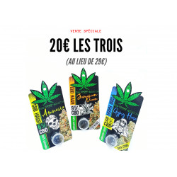 Pack 3 Hashs